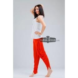трикотажные индийские штаны с завязками для йоги