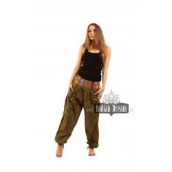 индийские штаны с карманами вискоза