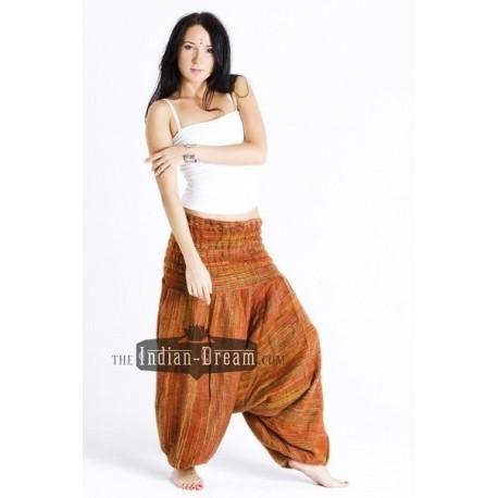 яркие теплые индийские штаны алладины