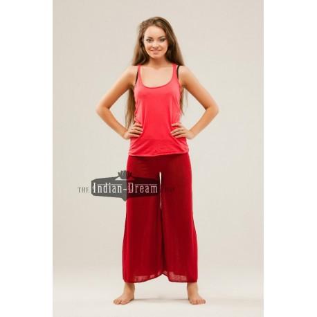 индийские трикотажные штаны для йоги