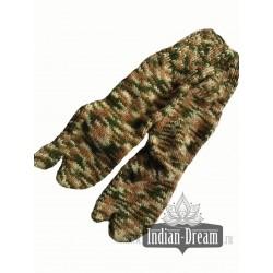 теплые носки с отдельным большим пальцем