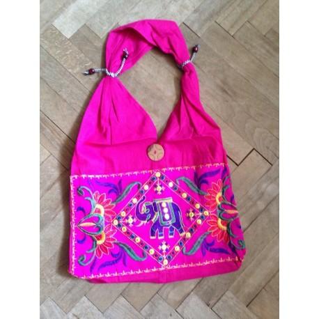 """индийская сумка хлопок """"слон в ромбе"""""""