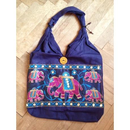 """индийская сумка """"5 слонов"""" хлопок"""