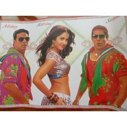 постер Катрина Каиф, Салман Кхан и Акшай Кумар