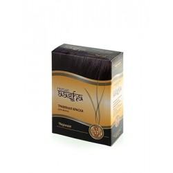 Травяная краска для волос Черная Aasha herbals черная