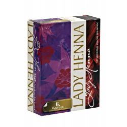 Краска для волос на основе хны Бургунд Lady Henna 60 гр