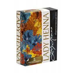 Краска для волос на основе хны Черный индиго Lady henna 60 гр