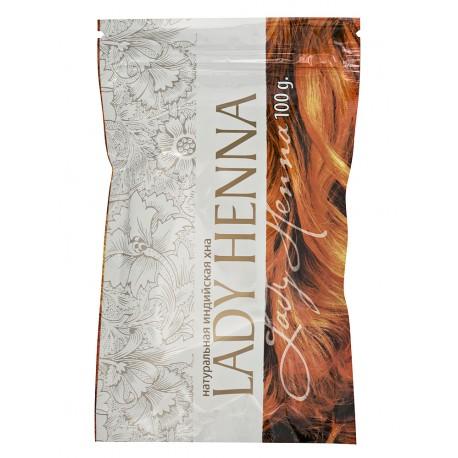Хна натуральная Lady henna 100 гр