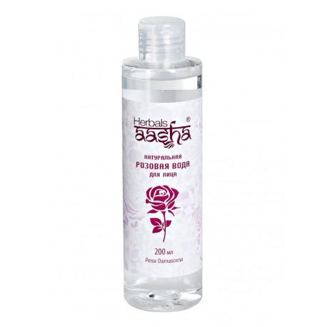 натуральная розовая вода Aasha herbals, 200 мл