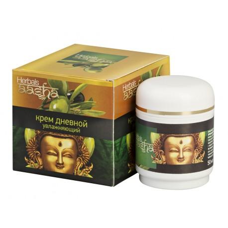 Крем для лица дневной увлажняющий Aasha herbals 50 гр