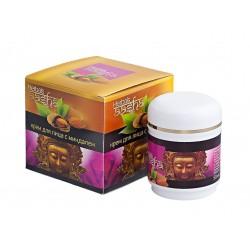 крем для лица с миндалем Aasha herbals 50 гр