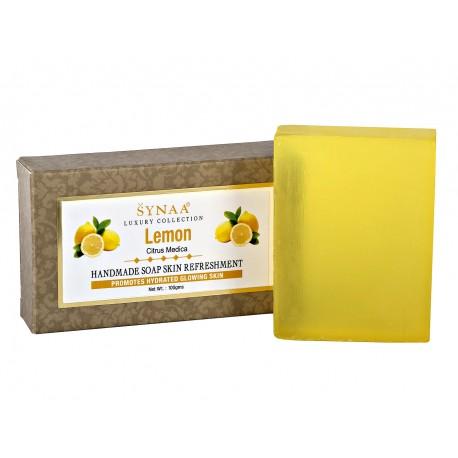 Мыло ручной работы Лимон, Synaa, 100 гр