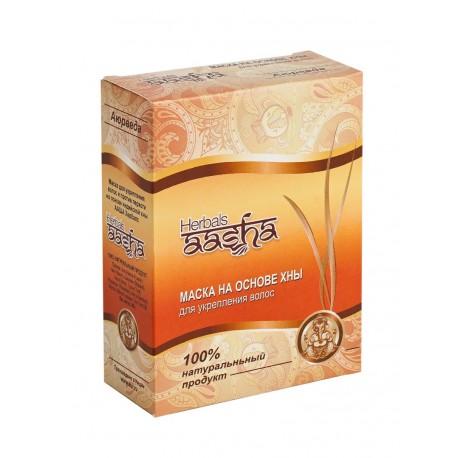 маска для волос на основе хны Aasha herbals 80 гр