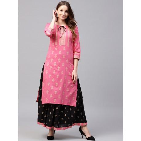 индийский костюм - туника и юбка,  L размер