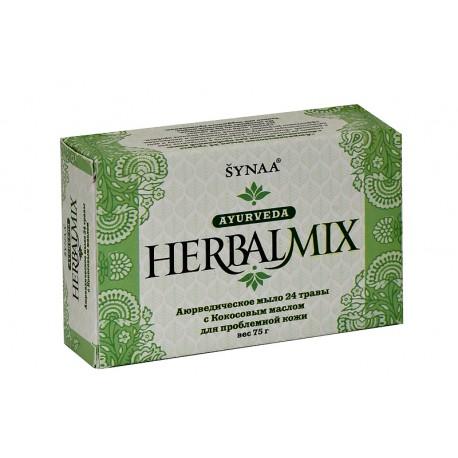 "мыло ""24 травы"" для проблемной кожи Synaa 75 гр"