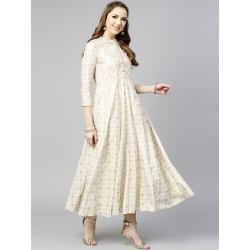 белое индийское платье анаркали S размер