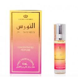 Арабские масляные духи Аль-Нурус (Al-Nourus) для женщин, 6 мл