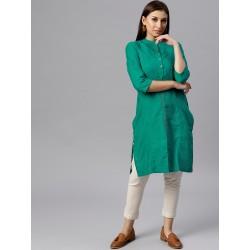 индийская туника зеленая 2XL