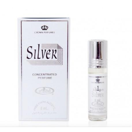 Арабские масляные духи Серебро (Silver), 6 мл