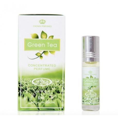 Арабские масляные духи Зелёный чай (Green Tea), 6 мл