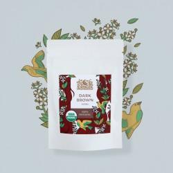 Хна тёмно-коричневая (Dark Brown Henna) 50 гр
