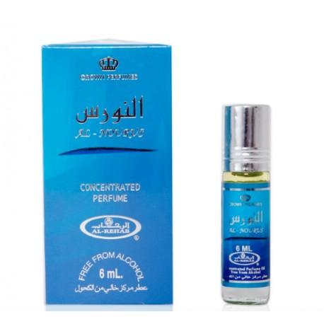 Арабские масляные духи Аль-Нурус (Al-Nourus) для мужчин, 6 мл