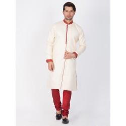 мужской индийский костюм - курта и чуридары - L размер