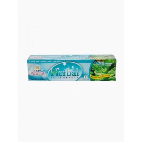 Травяная зубная паста с мятой (BAPS AMRUT) 150 г