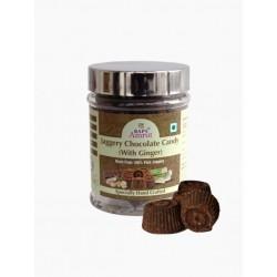 Джаггери с шоколадом и имбирем (Jaggery Chocolate Candy with Ginger) 150 г