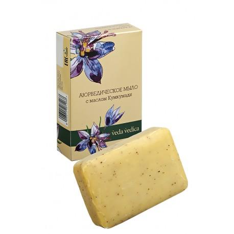 Аюрведическое мыло с маслом Кумкумади, 125 г