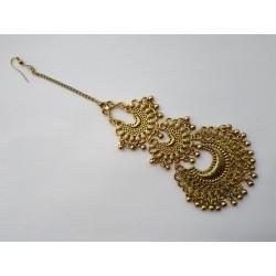 индийская тика золотистая с колокольчиками