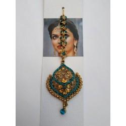 индийское украшение на пробор тика