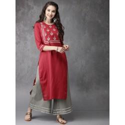 комплект индийской одежды - туника и брюки S