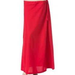 подъюбник (нижняя юбка под сари) хлопок разные цвета