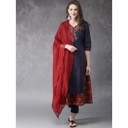 индийская одежда - туника, брюки, дупатта - S