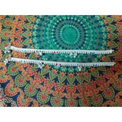 индийские ножные браслеты пара