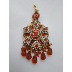 индийское украшение на прическу джумар (разные цвета)