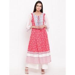 индийское платье/туника анаркали этно стиль М