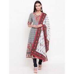 индийская одежда комплект: платье, чуридары, дупатта (S)