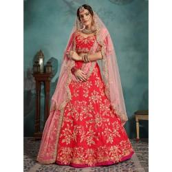 индийский свадебный женский костюм ленга чоли S