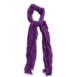 индийская дупатта фиолетовая