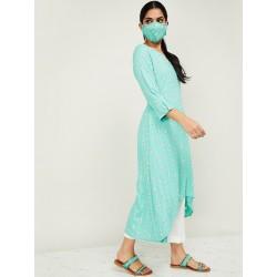 индийская одежда - туника и брюки XL