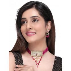 индийские украшения - ожерелье и серьги