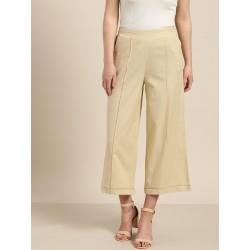 индийские брюки бежевые М размер