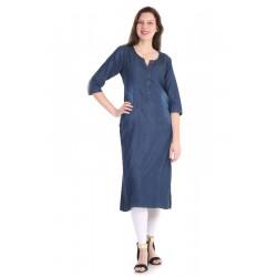 индийская туника джинсовая S размер