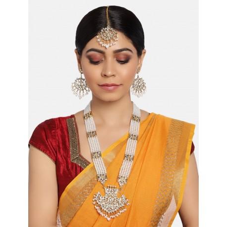 индийские украшения с длинным ожерельем
