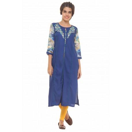 индийская туника с вышивкой XL размер